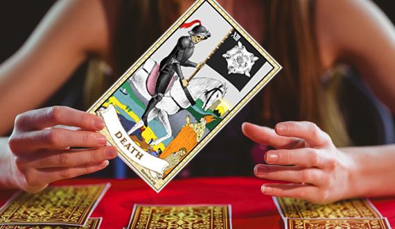 死神のタロットカード